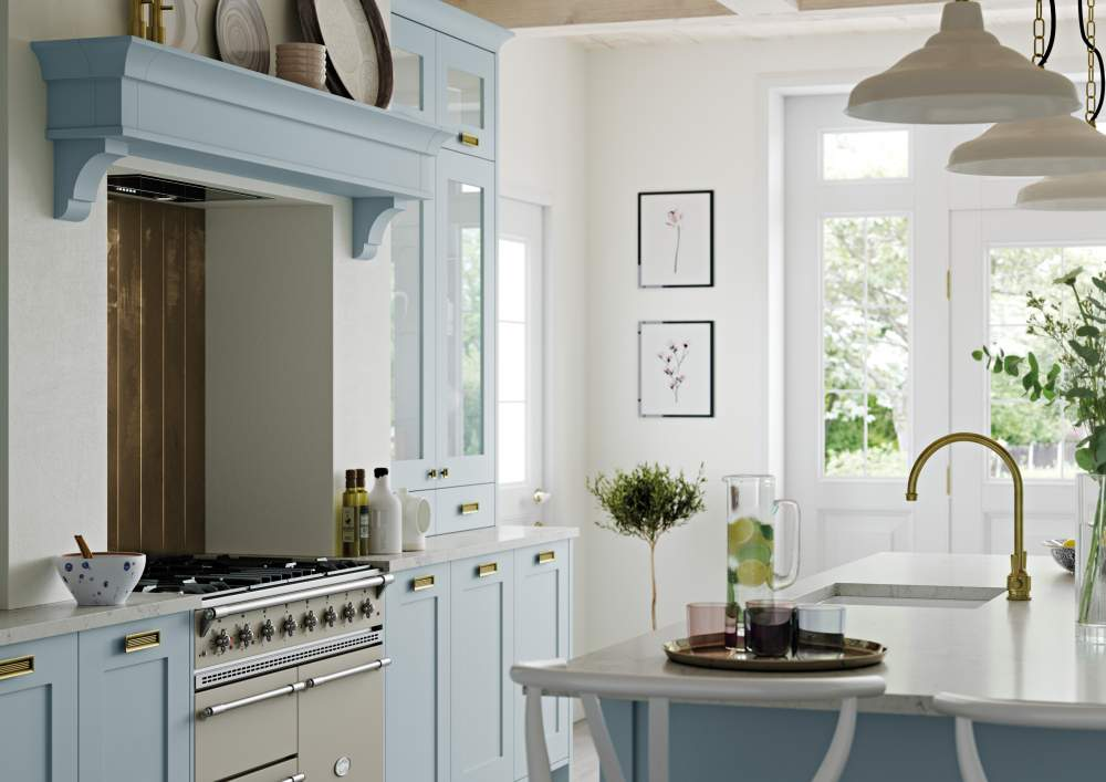 Georgia Pantry Blue Cameo Kitchen