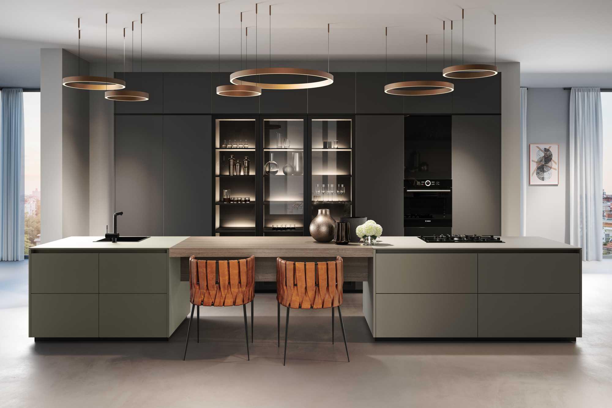 ZeroxUmbra XT, XeroxLava XT and Class VI Black HL Kitchen