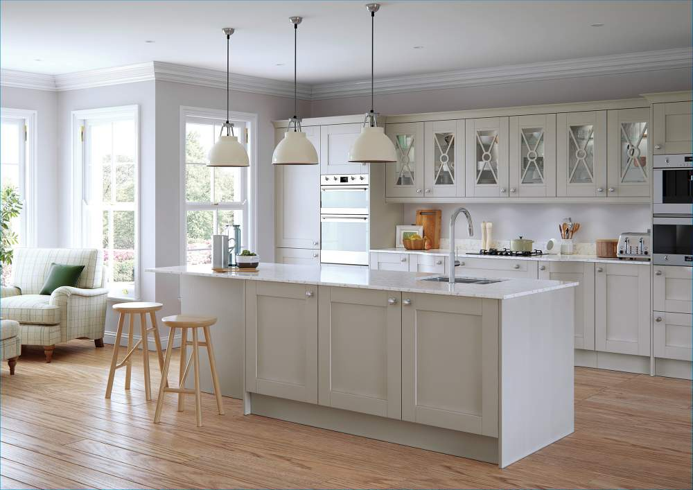 Madison Light Grey kitchen