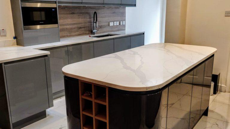 2 Tone Kitchen Install Gravesend